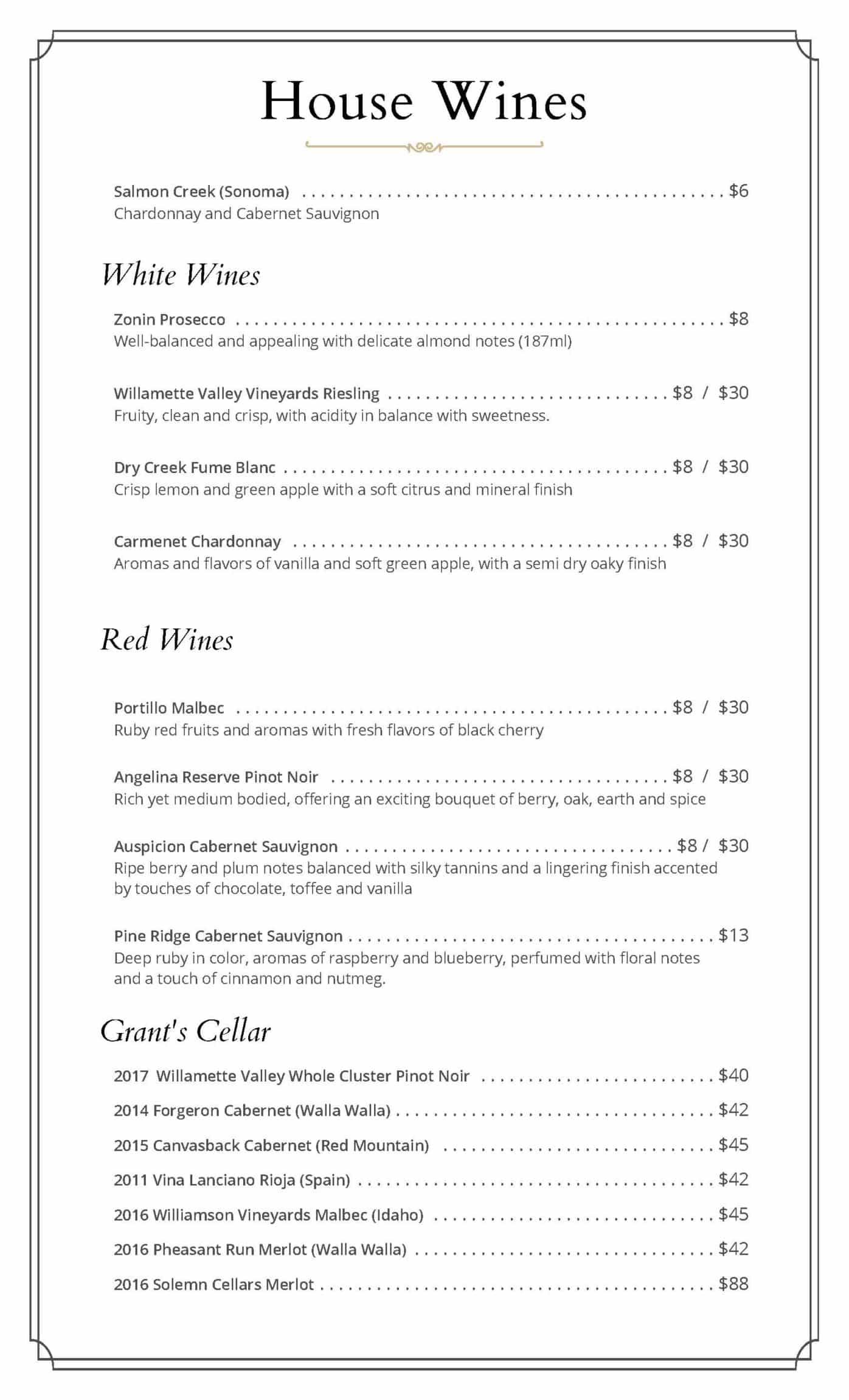 Grants Wine 2020